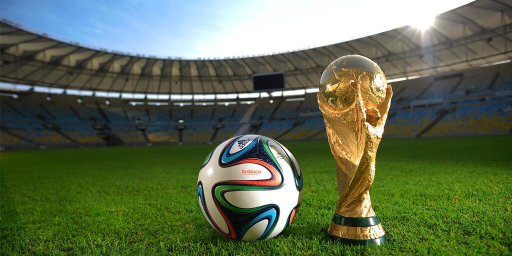 Adidas World Cup 2014 Brazuca Ball