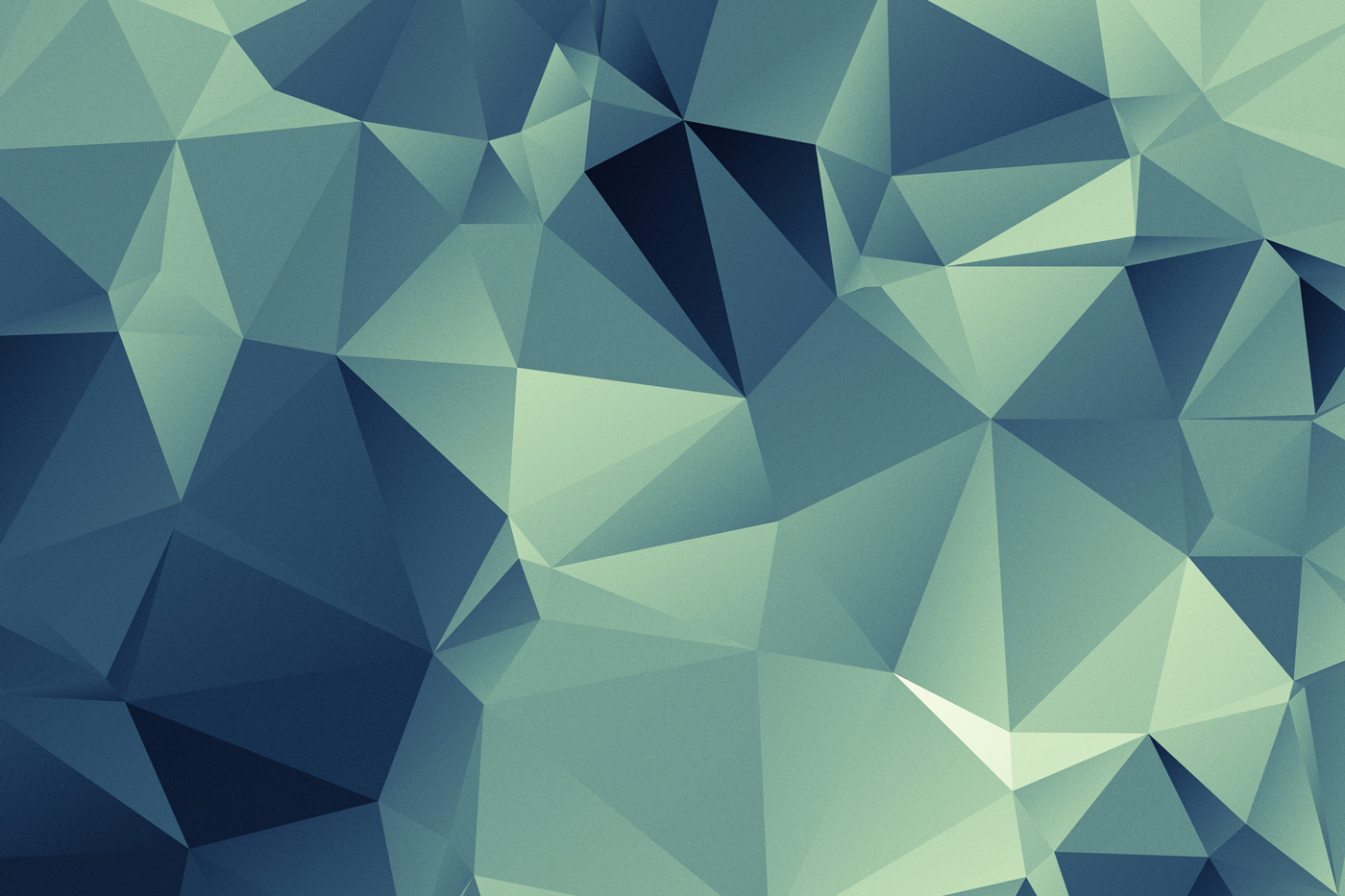 Triangle background turquoise