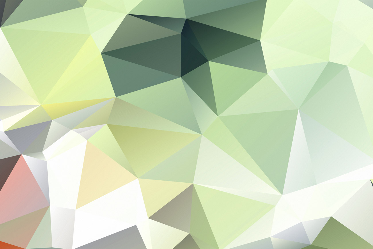 Triangle background Green