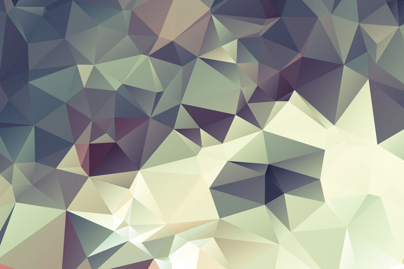 Triangle background Purple and Green