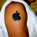 apple tattoo - branding