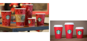 starbucks red cups christmas