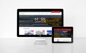 Responsive web design for Yukon realtor