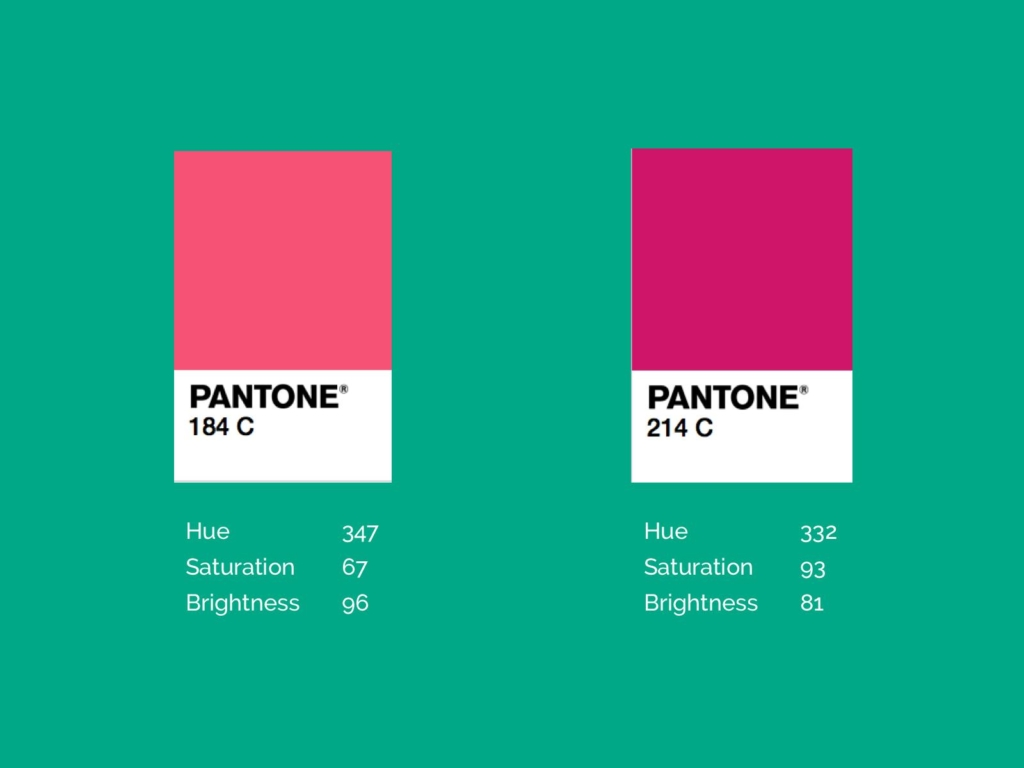 Fall Brand Colours Pink
