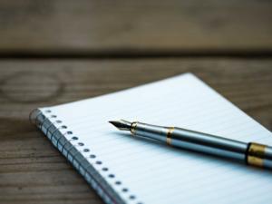 Writing note pad