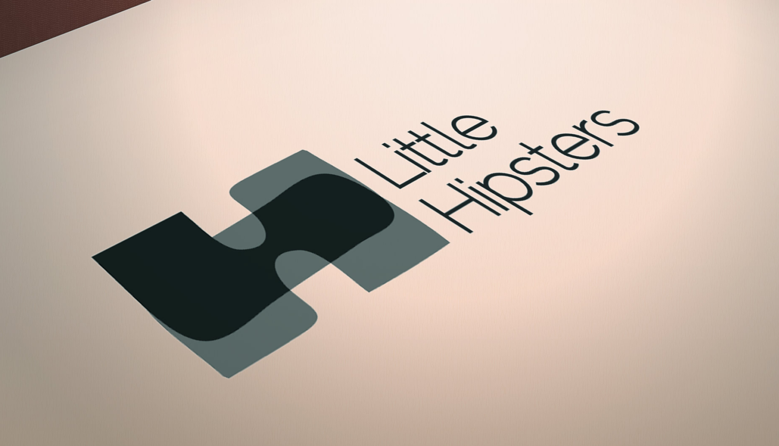 Little Hipsters logo designed in Vancouver