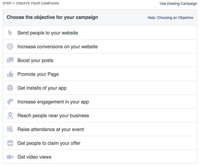 Facebook Social Media - Campaign Metrics