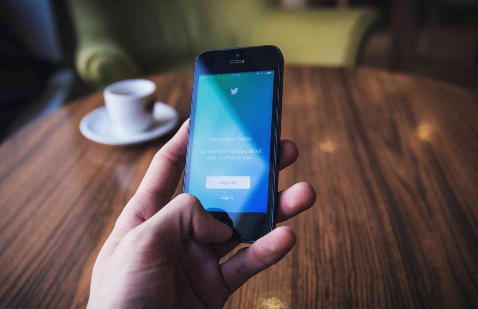 Brand development using twitter