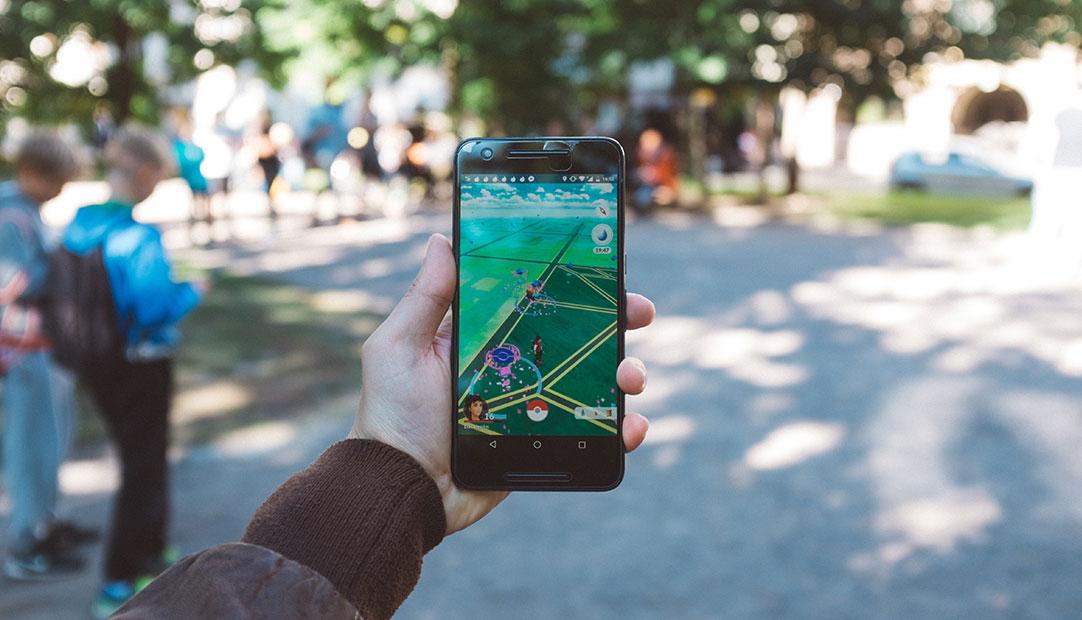 Pokemon Go cellphone game