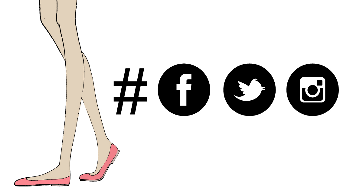 Don't use the same hastags for Facebook, Twitter and Instagram