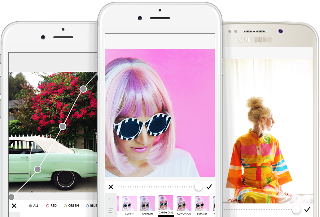 A Color Story Photo Editing app for Instagram marketing
