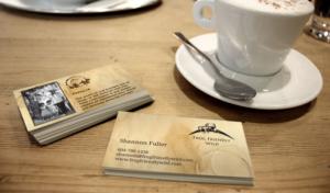 Business card design branding | Frog Friendly Wild