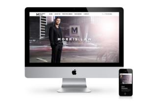 Responsive web design | Morris Law