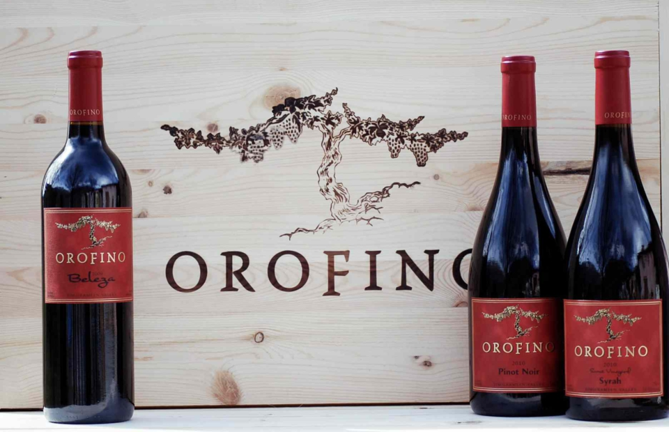 Marketing and web design | Orofino Winery