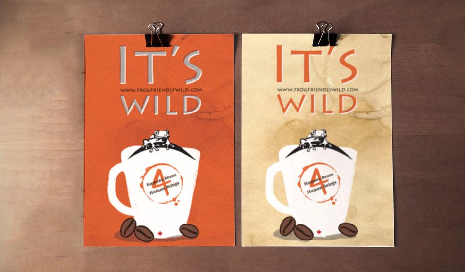 Poster Design   Frog Friendly Wild
