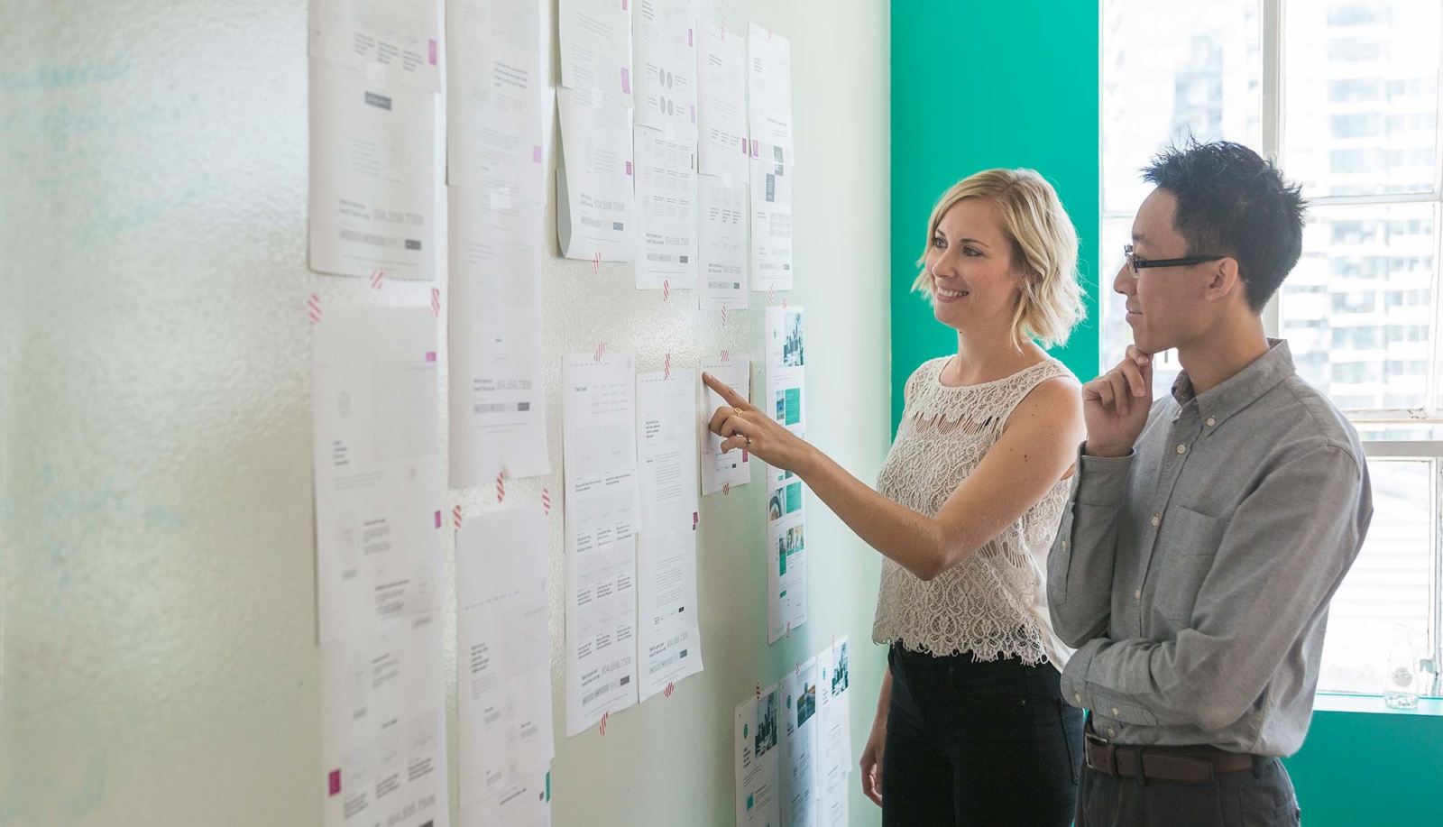 Wireframing and UX design
