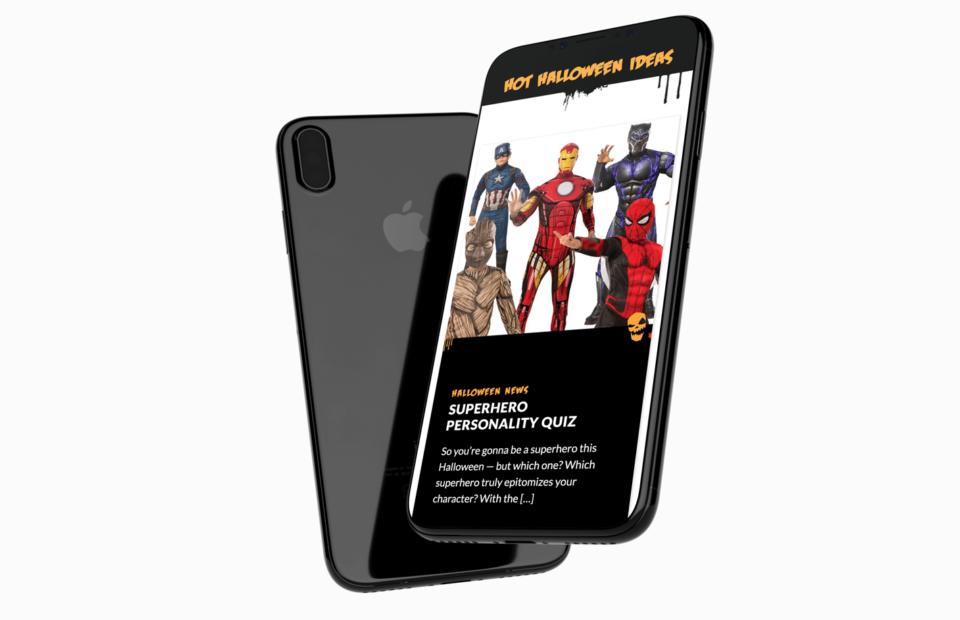 Halloween Alley iPhone X