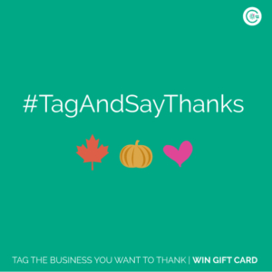 Tag And Say Thanks Business Vancouver