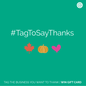 Tag To Say Thanks Business Vancouver