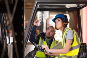Forklift operator training website in Vancouver