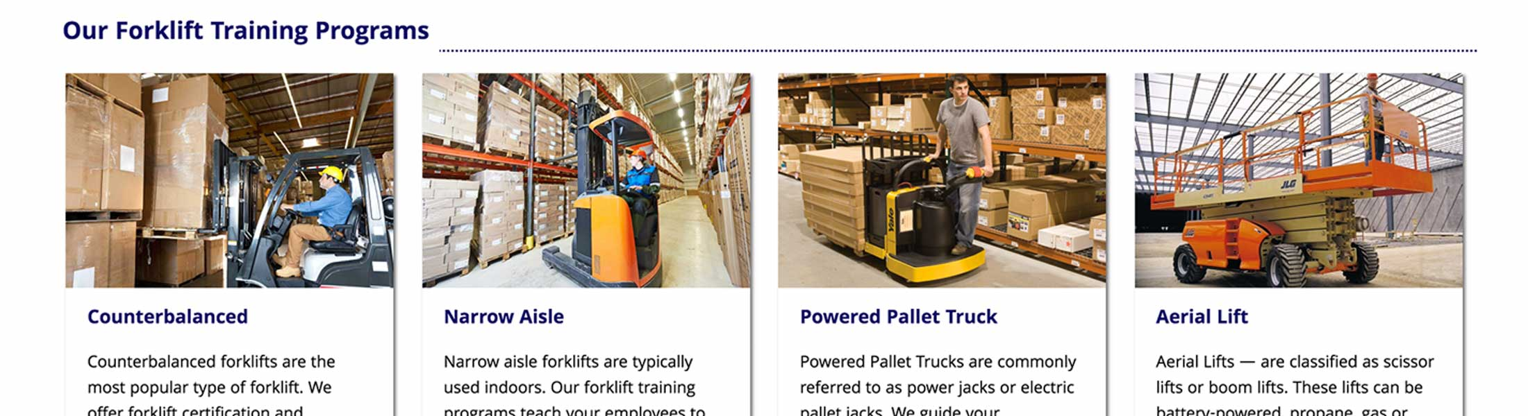 Web design case study for a forklift training company a clear message to their target audience thereby attracting the right customers and ensuring they take the next step of contacting martins forklift 1betcityfo Images