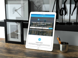 Responsive web design for Quicktech in Vancouver