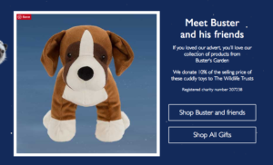 Buster and friends marketing idea