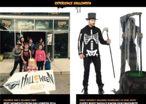 Experience Halloween on the Halloween Alley Website