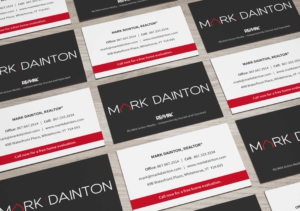 Business card design for Mark Dainton