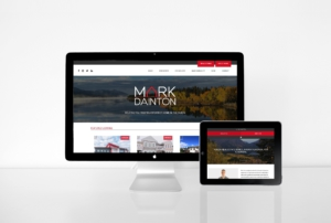 Responsive web design for Yukon realtor