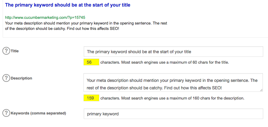 photo of primary keyword and its related steps
