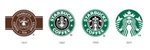 starbucks logo changes
