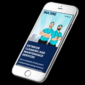 Responsive website design | mobile-friendly website for Imagine Maintenance in Vancouver