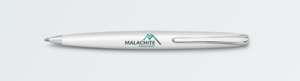 Logo on pen
