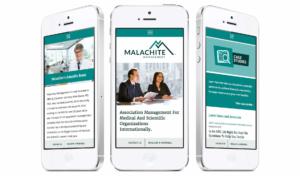 malachite-iphone - web design