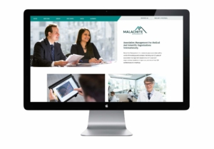 Malachite Management website after redesign