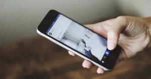 Regramming image on social media