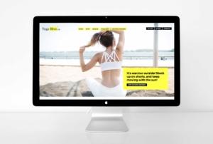 Yoga Hive website after website design