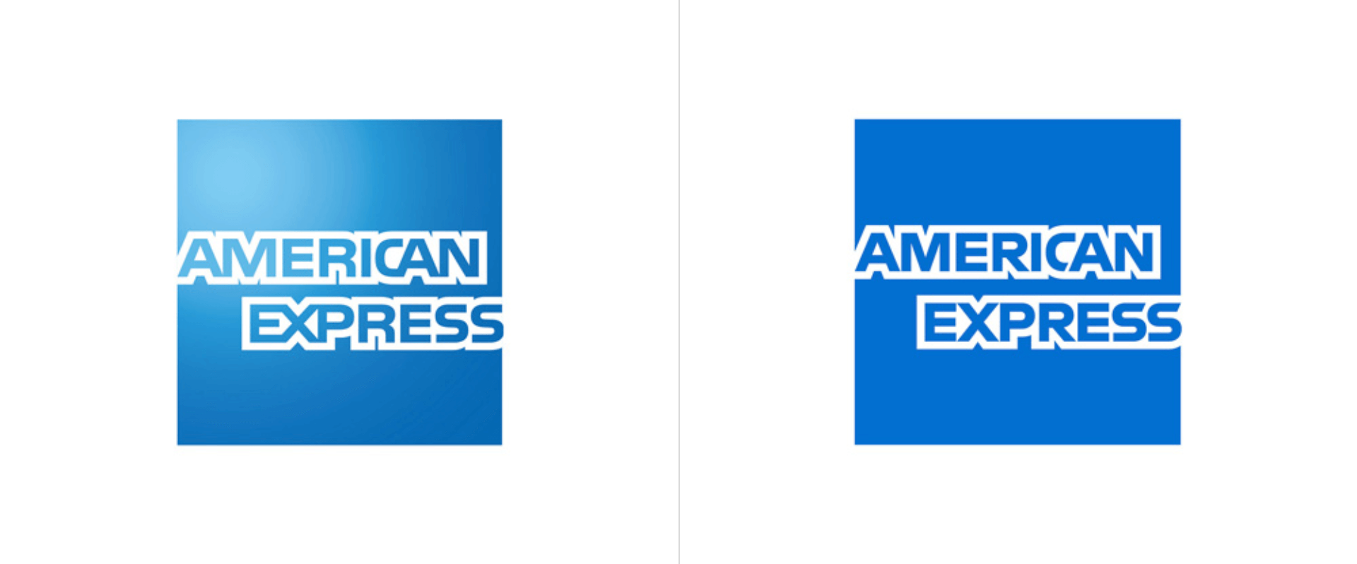 AMEX before and after