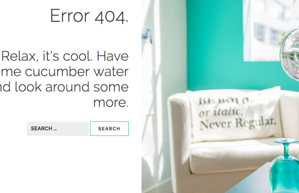 Cucumber 404 page